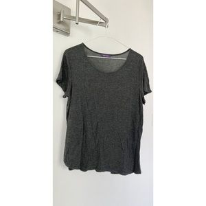 HOT GAL Grey Short Sleeve Top